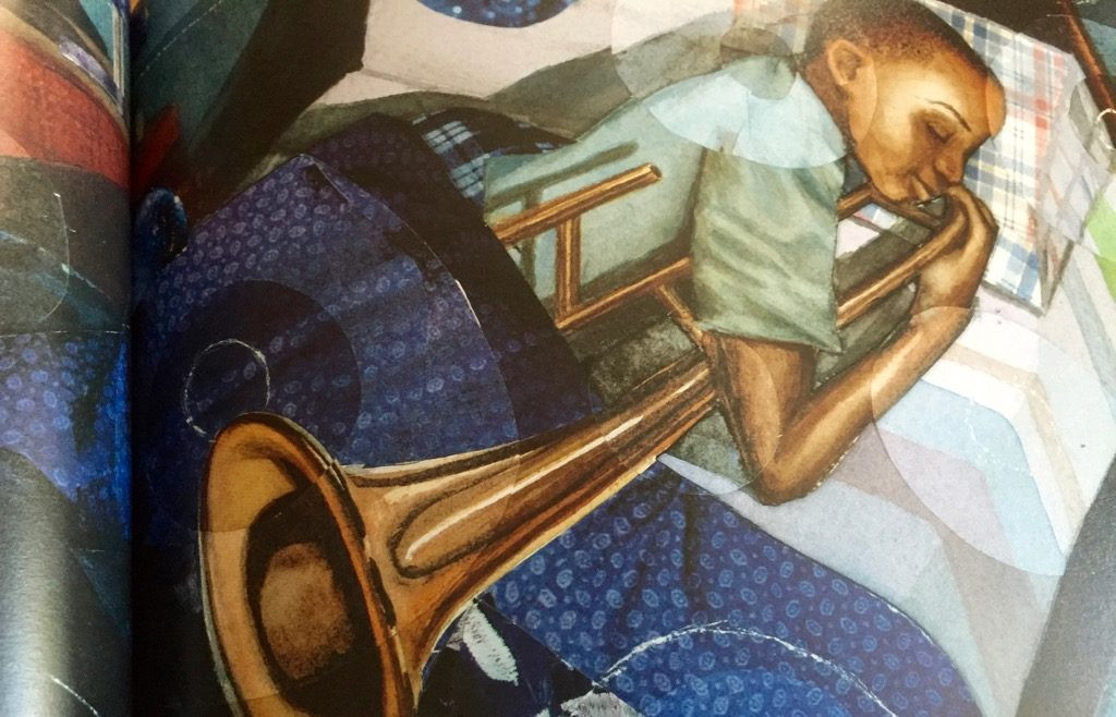 Artwork from the book Trombone Shorty