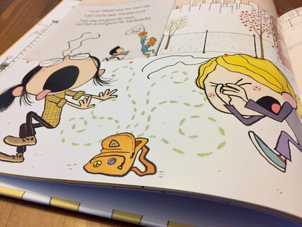 Artwork from the book Maddi's Fridge