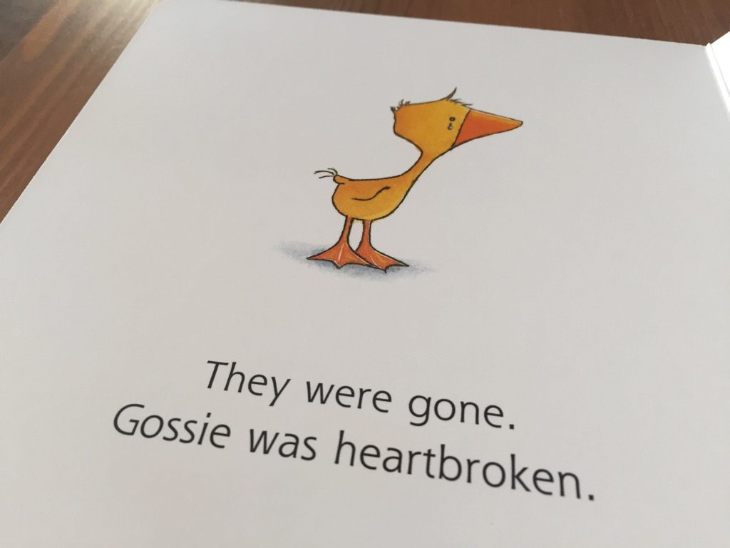 Artwork from the book Gossie