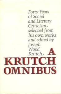Cover of A Krutch Omnibus