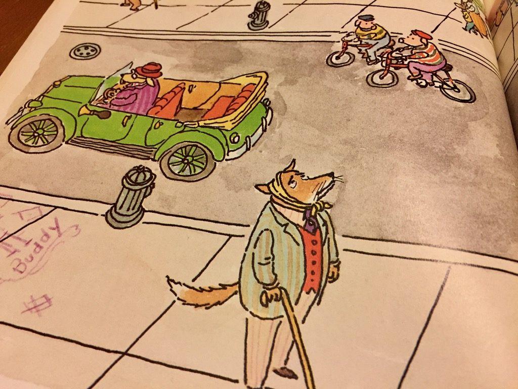 Artwork from the book Doctor De Soto