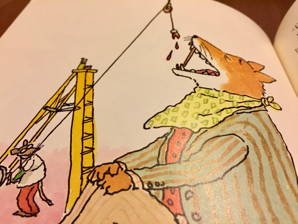 Artwork from the book Doctor De Soto by William Steig