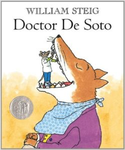 The cover of the book Doctor De Soto by William Steig
