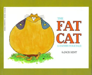 The cover of the book The Fat Cat by Jack Kent