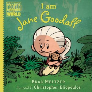 The cover of the book I Am Jane Goodall